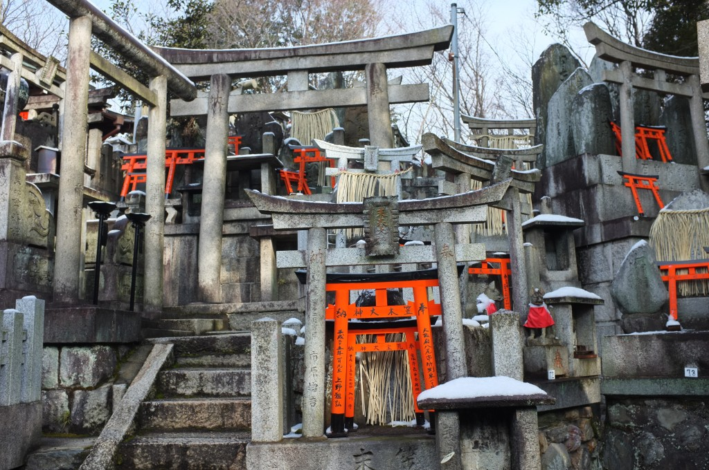 Kyoto's Fushimi-Inari-Taisha Shinto Shrine