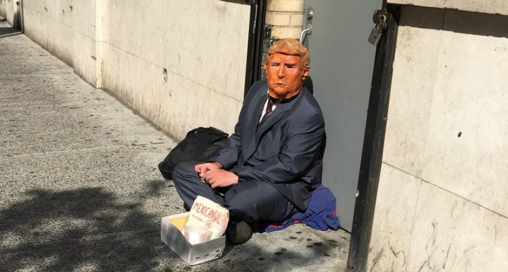 Donald Trump When He Was Down and Out